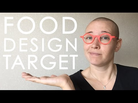 The Food Design Target - a visualisation of Design opportunities
