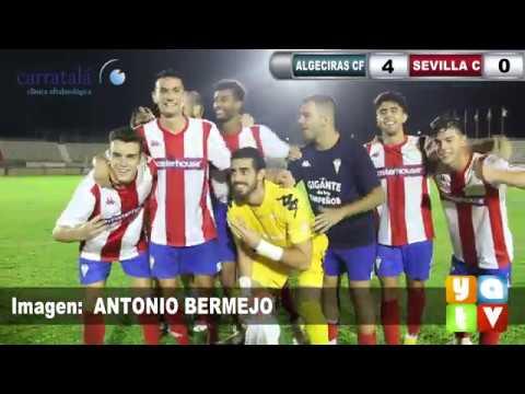 📺 (4 - 0) El Algeciras CF destroza al Sevilla C en un partido perfecto