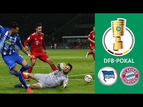 Hertha BSC Vs FC Bayern München ᴴᴰ 06.02.2019 - DFB-Pokal - Achtelfinale | FIFA 19