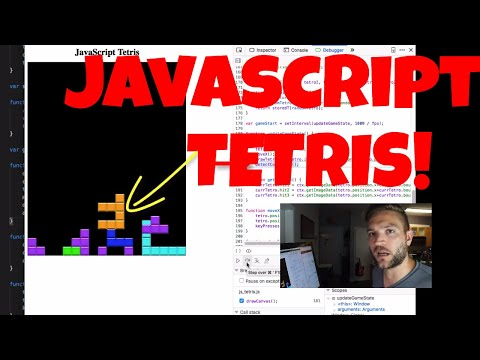 My First App: Javascript TETRIS!!! (Code Overview)