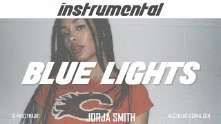 Jorja Smith - Blue Lights (INSTRUMENTAL)