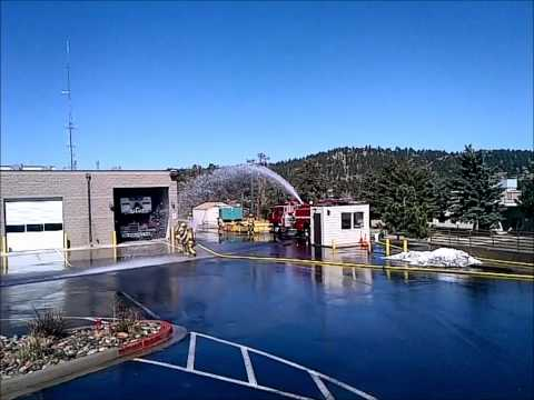 Evergreen Fire Rescue - 2.5 inch vs the deck gun.