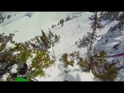 Dream Lines - Part 1: Skiing Whistler Peak 2012. GoPro HD