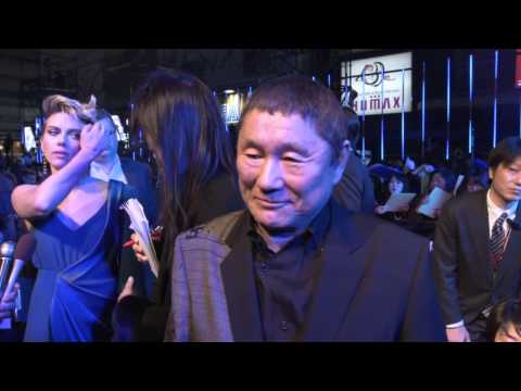 Ghost In The Shell Tokyo Premiere Interview - Takeshi Kitano