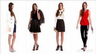 4 Ways to Dress For a Holiday Party, Winter Fashion, Currently Trending
