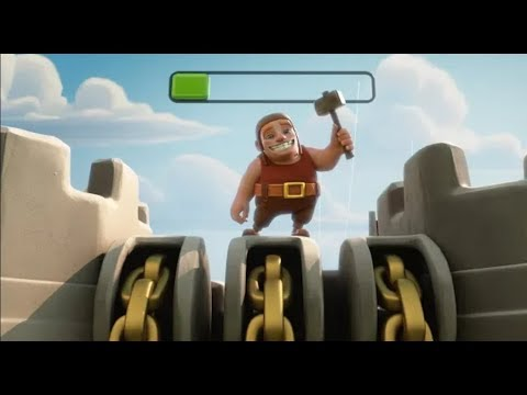 New clash of clan animation song hammer jam