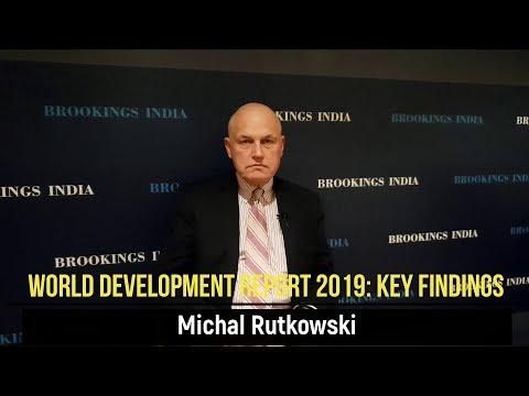 World Development Report 2019: Key Findings