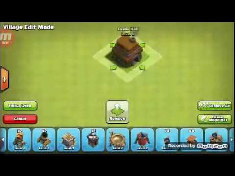 Clash Of Clans How To Make A Good Base Town Hall 6