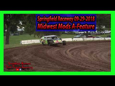 Midwest Mods A-Feature - Springfield Raceway - 9-29-2018 - Under The Lights 100