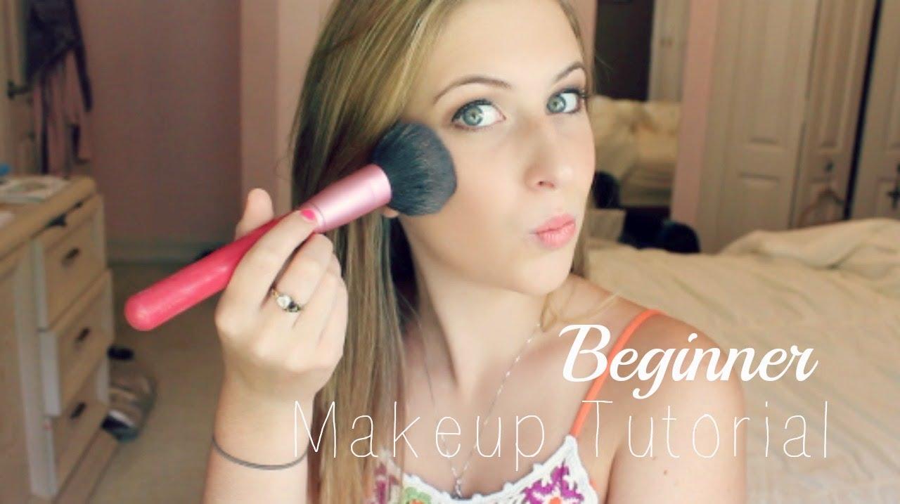 talk-through makeup tutorial for beginners + my favorite brushes