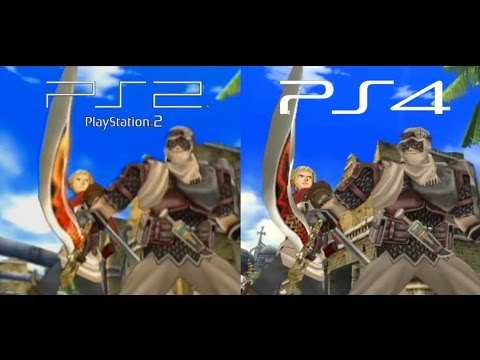 Rogue Galaxy PS2 vs PS4 Graphics Comparison