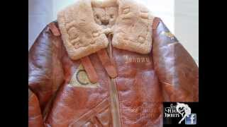Josh´s Flight Jackets latest painted nose art jackets