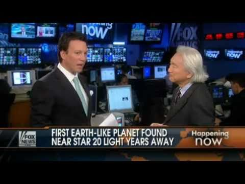 Michio Kaku: Earth-Like Planet Discovered