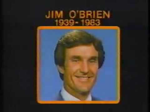 Death of Channel 6's Jim O'Brien - 9/25/83 11 PM Report