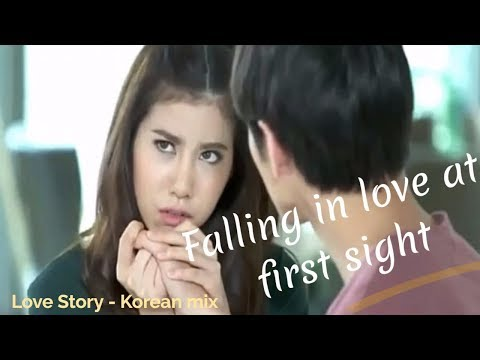 falling in love at first sight - Hindi Love songs - Love Story - Korean mix