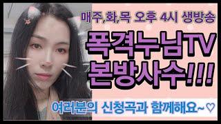 """""""트로트"""" 폭격누님TV 6월 13일 …"""