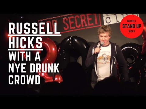 a (drunken) audience with Russell Hicks