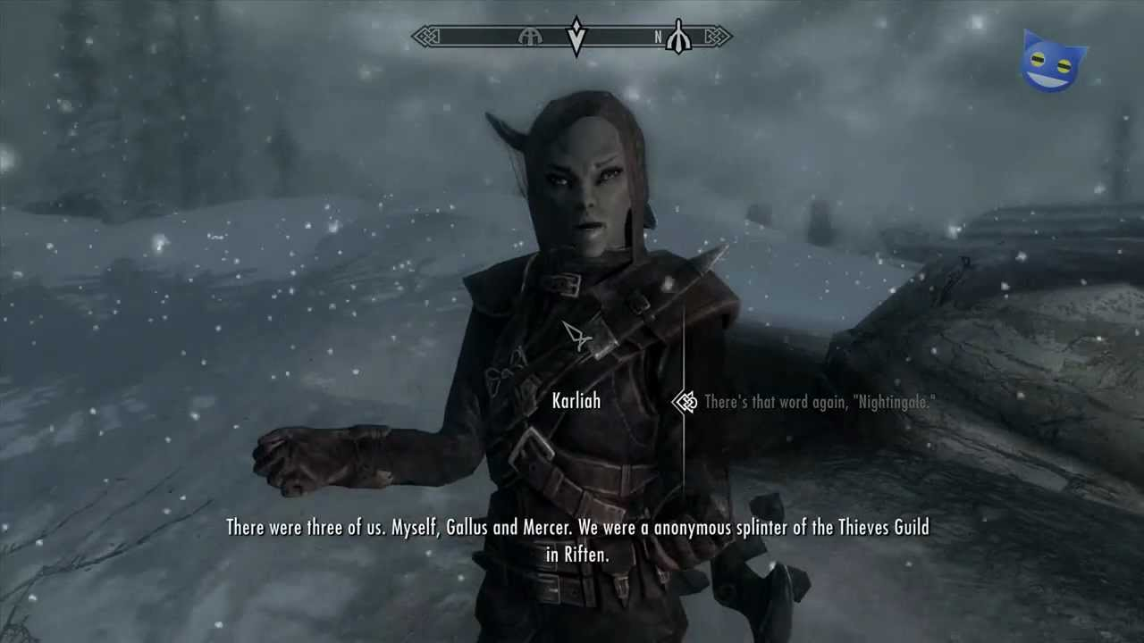 Let's Play Skyrim - 56 : Karliah - YouTube