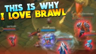 Mobile Legends My Most INSANE Brawl Game!