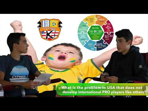 Why the USA is not developing as many International soccer players as other countries like Brazil?
