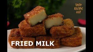 Fried Milk ! Spanish Dessert ! Leche Frita recipe