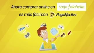 Cómo comprar online en Saga Falabella con PagoEfectivo
