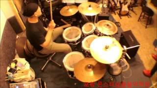 시계바늘  드럼(Drum) 라이브버젼-----배정주드럼 포항몬스터실용음악학원