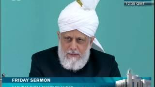 Freitagsansprache 20. Juli 2012 - Islam Ahmadiyya