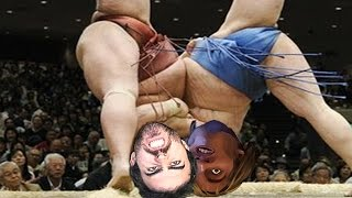 rooftop sumo wrestling   gta 5 funny moments online 6