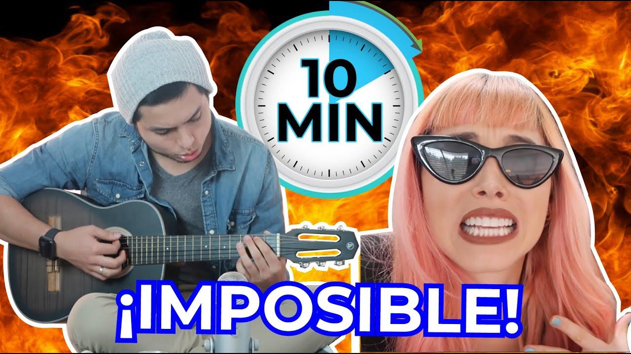 Creando una CANCIÓN EN 10 MINUTOS ⏰ | ES IMPOSIBLE 🤯  | Santimaye, Kika Nieto, Sebasmaye, Jorge