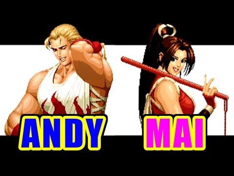 アンディ・ボガード(AndyBogard) - THE KING OF FIGHTERS '95 for PlayStation