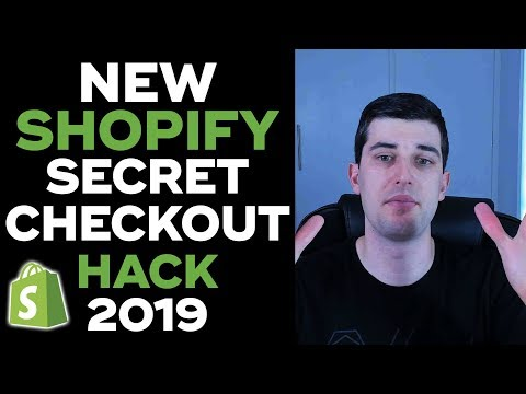 [NEW] ULTIMATE SHOPIFY CHECKOUT HACK 2019 LIVE | CONVERSION PIRATE HACK | INCREASE CONVERSIONS thumbnail