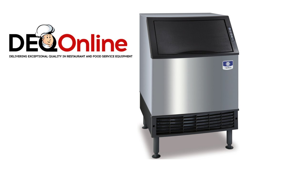 manitowoc ice neo ice machine maker cleaning video