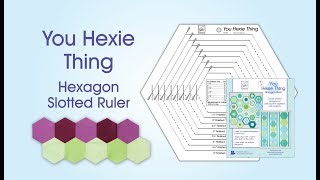 June Tailor You Hexie Thing Hexagon Ruler