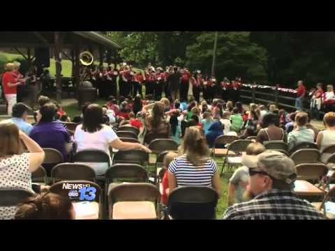 Never Stop Learning: Woodfin Elementary Memorial Day Ceremony