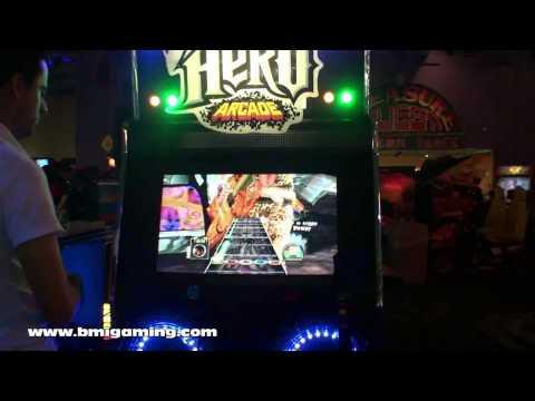 Guitar Hero Arcade Video Game - BMIGaming.com - Konami - Activision
