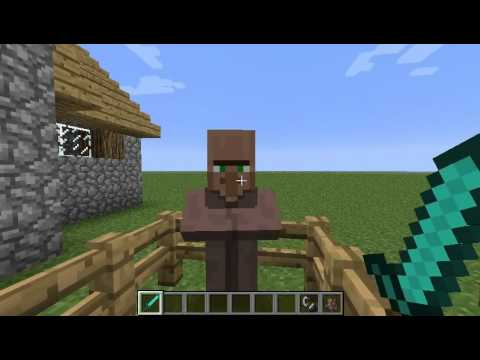 Minecraft - How to kill off villagers safely - Unaffected popularity points