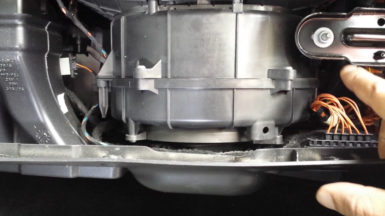Mercedes Air Blower Replacement