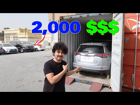 Buying My First Car In Dubai From Auction In CHEAPEST Price From......