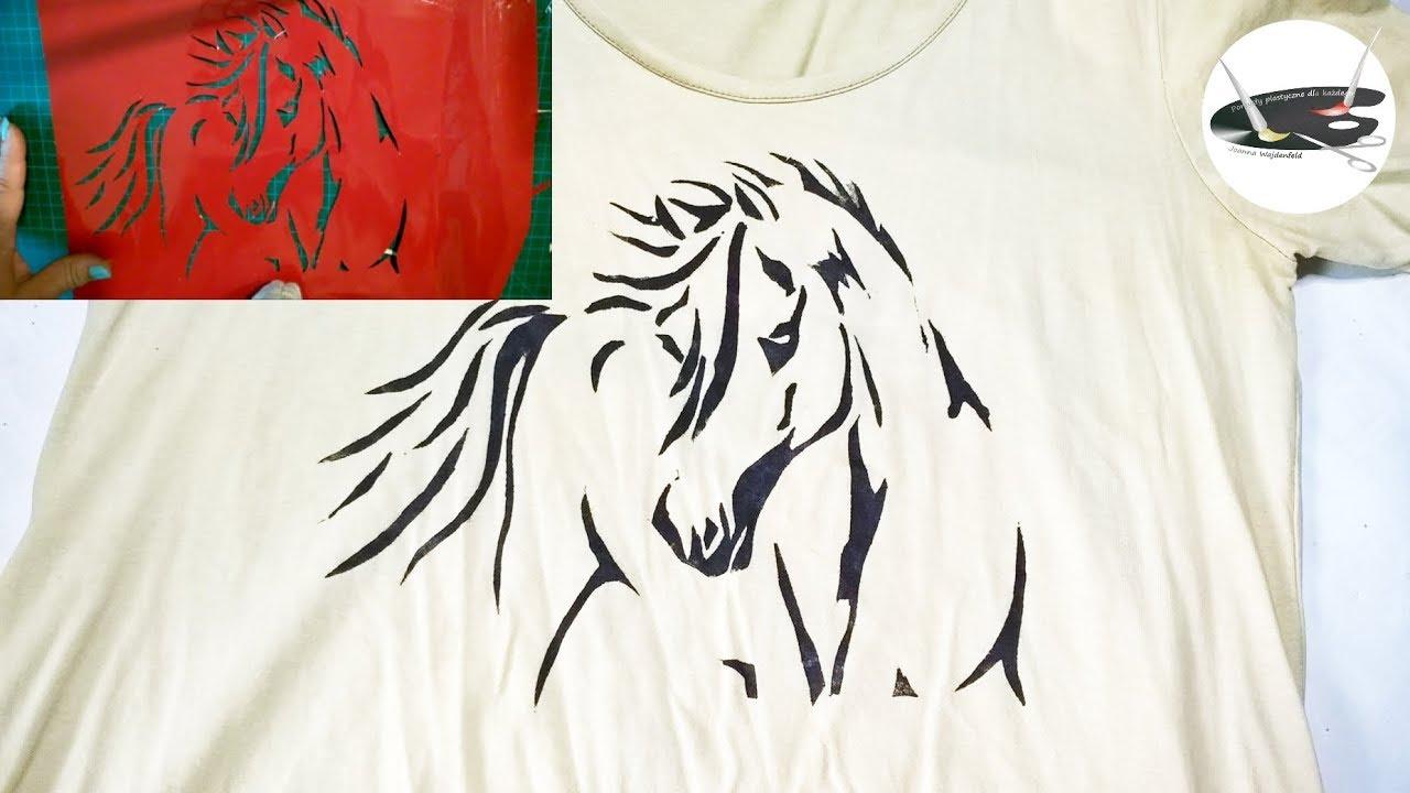 Jak prosto zrobić własny szablon do nadruku na koszulkach