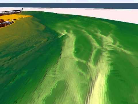 Fly-through: 3D model of the South Coast seafloor