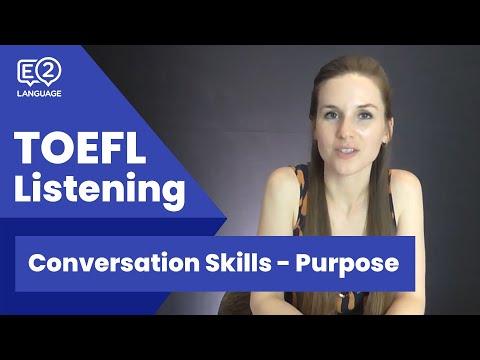 מבחן לדוגמה TOEFL: חלק השמיעה