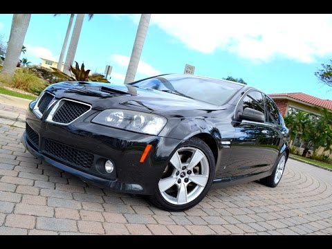 2009 pontiac g8 for sale florida 6 0l v8 youtube. Black Bedroom Furniture Sets. Home Design Ideas