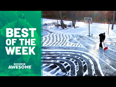 Airbending, Skating Halfpipes, Barefoot Shredding & Shovel Art | Best of the Week