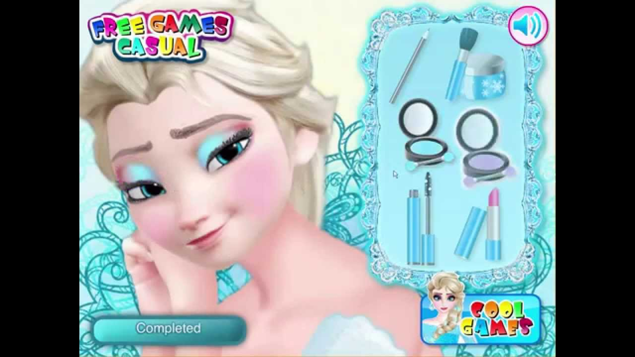 Elsa Wedding Makeup School Game