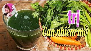 Nếu bị GAN NHIỄM MỠ nên ép nước rau này uống #CoHaiNhoSaiGon - travel to vietnam