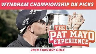 2018 Fantasy Golf Picks - Wyndham Championship DraftKings Picks, Sleepers and Preview
