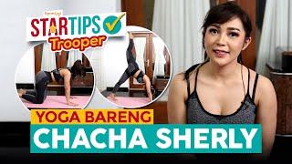 Download lagu Tips 4 Gerakan Yoga di Rumah Dari Chacha Sherly