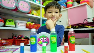 Learn Colors with Slime by Xavi