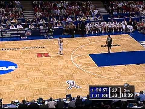 2004 NCAA Basketball Regional Final - Oklahoma State vs Saint Joseph's